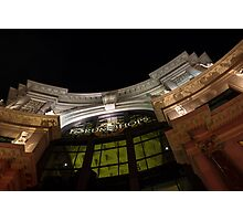 The Forum Shops at Night Photographic Print