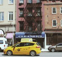 NY Streets Sticker