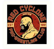 Pro Wrestling Art Print