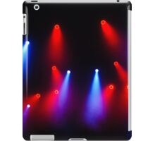 Music in Red and Blue - Montreal Jazz Festival iPad Case/Skin