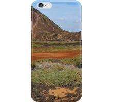 Landscape on Lobos Island Canary iPhone Case/Skin