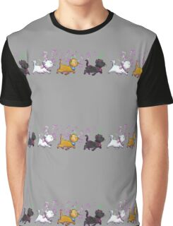 Kitten Trio Graphic T-Shirt