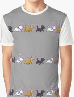 Kitten Trio Graphic T-Shirt