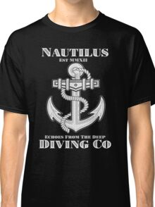 Nautilus Diving Co! (On Black/Colored Shirt Only!) Classic T-Shirt