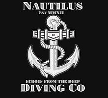 Nautilus Diving Co! (On Black/Colored Shirt Only!) Unisex T-Shirt
