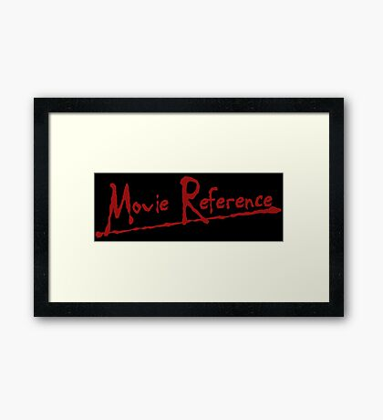 Movie Reference - Apocalypse Now Framed Print