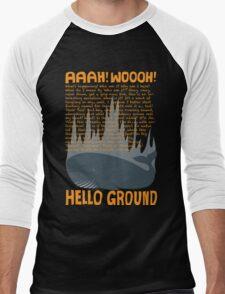 Hello Ground! Men's Baseball ¾ T-Shirt