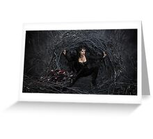 Lana Parilla Evil Queen Once Upon A Time Greeting Card