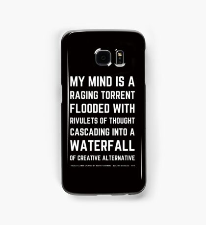 Funny Mel Brooks Blazing saddles Quote (Simple Version)! Samsung Galaxy Case/Skin