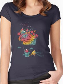 Dreams Women's Fitted Scoop T-Shirt