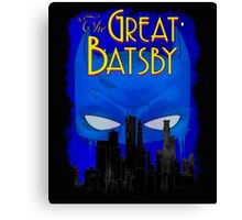 Great Batsby Canvas Print