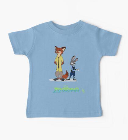 Zootopia --- Judy and Nick Baby Tee