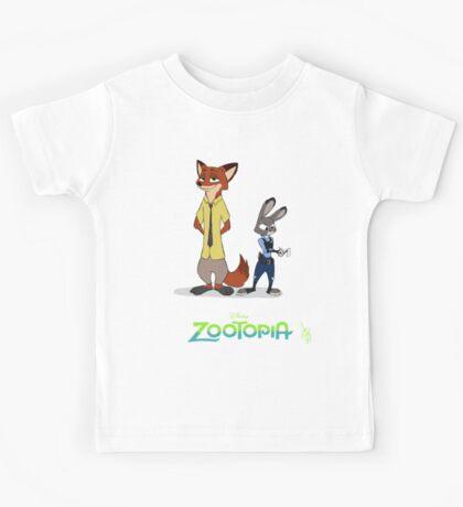 Zootopia --- Judy and Nick Kids Tee