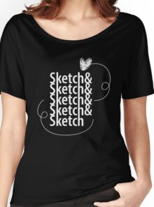 Sketch& Women's Relaxed Fit T-Shirt