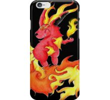 Ablaze Carbuncle iPhone Case/Skin