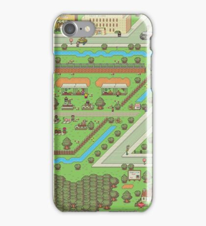 Twoson - Earthbound - Nintendo SNES RPG game iPhone Case/Skin
