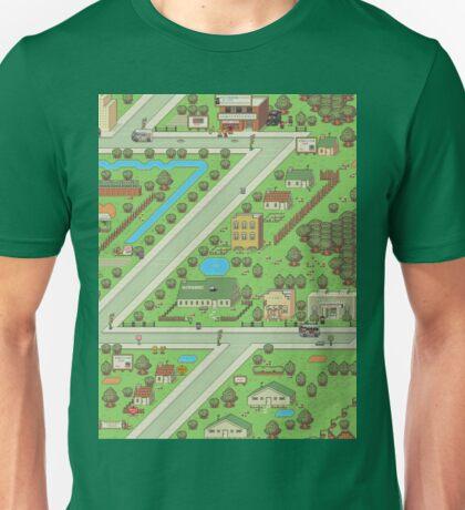Twoson - Earthbound - Nintendo SNES RPG game Unisex T-Shirt
