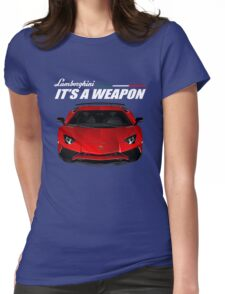 Lamborghini aventador Womens Fitted T-Shirt