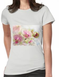 Exquisite Orchid Womens Fitted T-Shirt