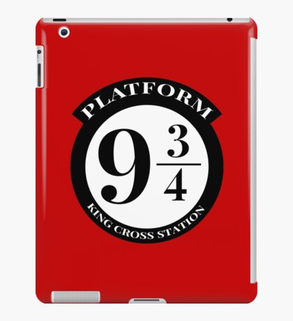 Platform 9 3/4 iPad Case/Skin