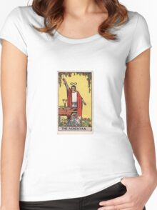 The Magician - The Magus of Power Women's Fitted Scoop T-Shirt