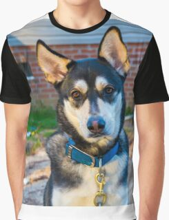 Aww Cute Doggy Graphic T-Shirt