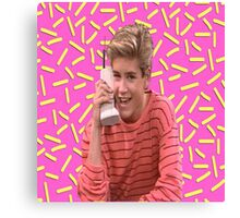 Saved By Zack Morris Canvas Print