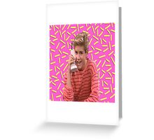 Saved By Zack Morris Greeting Card