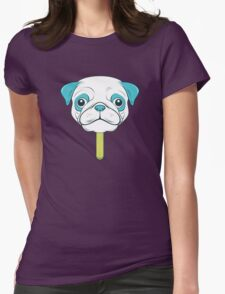 Pugsicle  Womens Fitted T-Shirt
