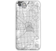 Adelaide City Map Gray iPhone Case/Skin