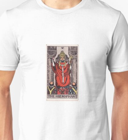 The Hierophant - Magus of the Eternal Gods Unisex T-Shirt