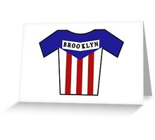 Retro Jerseys Collection - Brooklyn Greeting Card