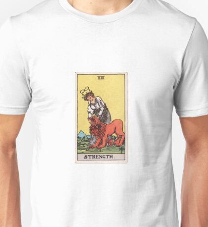 Strength - Daughter of the Flaming Sword Unisex T-Shirt