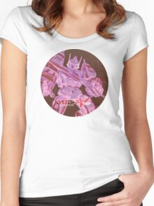 G1 Transformers Victory Poster Women's Fitted Scoop T-Shirt