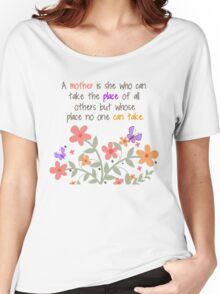 A Mother Is... Women's Relaxed Fit T-Shirt