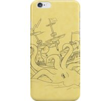 Here Be Monsters iPhone Case/Skin