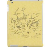Here Be Monsters iPad Case/Skin