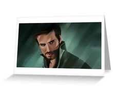 Killian Jones Greeting Card