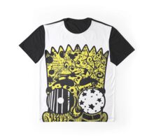Bart Graffitis Graphic T-Shirt