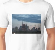 Slow Dusk - Toronto's Glowing Skyline Unisex T-Shirt