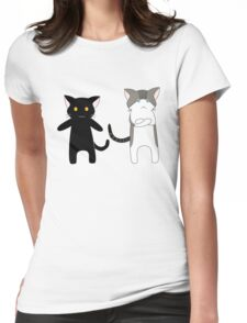 Oats and Whoo Womens Fitted T-Shirt