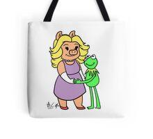Miss Piggy and Kermit Tote Bag