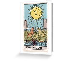 The Moon - Ruler of Flux and Reflux Greeting Card