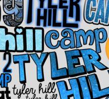 Tyler Hill Words Collage Sticker