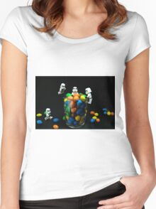 Sweet-Troopers Women's Fitted Scoop T-Shirt