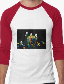 Sweet-Troopers Men's Baseball ¾ T-Shirt