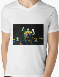 Sweet-Troopers Mens V-Neck T-Shirt