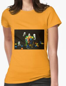 Sweet-Troopers Womens Fitted T-Shirt