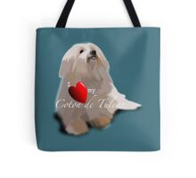 I Love Heart my Coton de Tulear Tote Bag