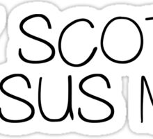 Funny Quote Hey Scotty Jesus Man Ray William Johnson Viral Trash Cult Movie Sticker